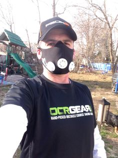 Elevation Training mask, taking my workout to another altitude.