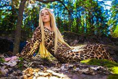 nature, woman