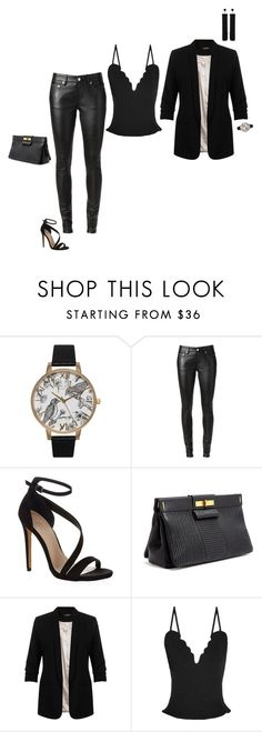 """""""Geen titel #210"""" by hoennie ❤ liked on Polyvore featuring Olivia Burton, Yves Saint Laurent, Carvela Kurt Geiger, Marc by Marc Jacobs, Miss Selfridge, Carven, Tom Ford, women's clothing, women and female"""