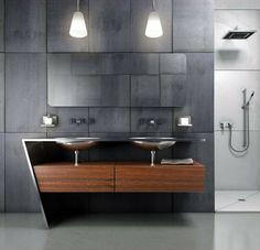 Salle de bain moderne et très design