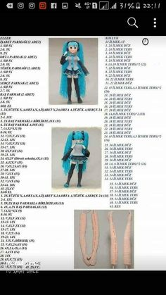 Doll Amigurumi Free Pattern, Crochet Amigurumi Free Patterns, Crochet Doily Patterns, Baby Knitting Patterns, Amigurumi Doll, Crochet Sandals, Booties Crochet, Crochet Doll Tutorial, Crochet Disney