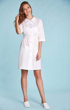 Модный медицинский женский халат SM 1240 Вероника - купить в интернет-магазине Online-маркет Shop-mania