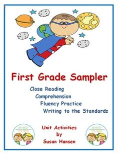 This free unit is a sample of my close reading, comprehension, fluency and writing activities. The activities are all related to original nonfiction stories that I have written. There are five activities that are focused on each of three different animals:  ladybugs, fish and tigers.