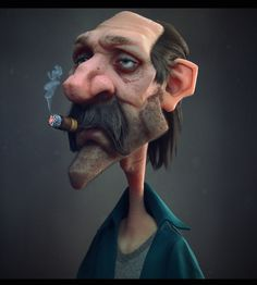 CGTalk - Gettin Too Old For ThisS, Antone Magdy (3D)