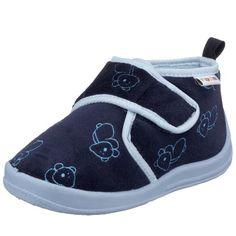 Playshoes Playshoes Hausschuh pastell 201734 - Zapatillas de casa para niños, color azul, talla 28/29