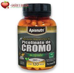 O Picolinato de Cromo é recomendado para a perda de peso por contribuir no metabolismo de gorduras e proteínas. Recomendado para a perda de peso, auxilia no aumento de massa muscular, além de ser um importante suplemento vitamínico e mineral. http://www.maissaudeebeleza.com.br/p/375/picolinato-de-cromo-280mg-c120-capsulas?utm_source=https://www.pinterest.com/MaisSaudeBeleza&utm_medium=pinterest&utm_campaign=Picolinato+de+Cromo&utm_content=post