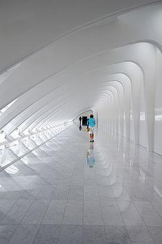 Milwaukee Art Museum Galleria by Abe K, via Flickr