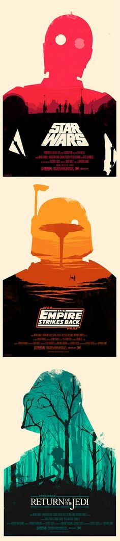 Star Wars Classic Trilogy posters • [ONDE EU ACHO ISSO, MEU DEUS?]