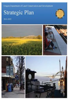 Strategic plan, 2014-2022, by the Oregon Department of Land Conservation and Development