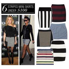 6 Striped Mini Skirts Under $100