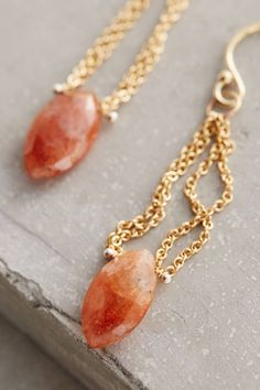 Anthropologie's New Arrivals: Jewelry Obsessions Marquis Sloane Drops by Lulu