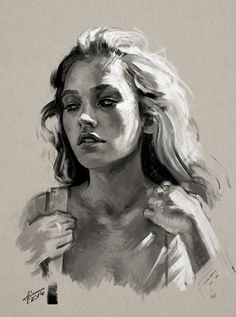 Portrait Study #3 on Behance