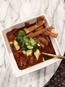 Quick & Cozy Tortilla Soup Recipe