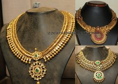 Jewellery Designs: Temple Sets by Hiya Jewelry