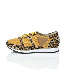 SHOE SHI BAR sneakers with animal print