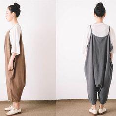 Women Plus Size Strap Pants