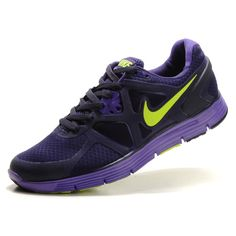 the best attitude aaf50 5f1f4 Nike Lunarglide+ 3 Mens Running Shoes - Purple Yellow