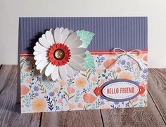 Stampin' Up! Delightful Daisy Suite - Judy May, Just Judy Designs
