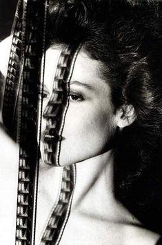 Sigourney Weaver, photographed by Helmut Newton