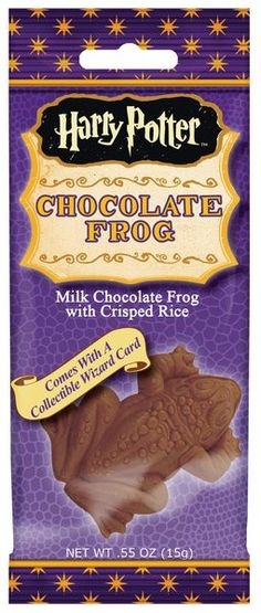 HARRY POTTER CHOCOLATE FROG .55oz 24ct