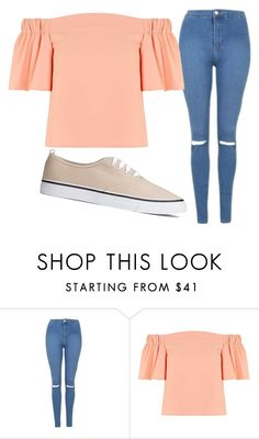 """""""Untitled #643"""" by grungenacho ❤ liked on Polyvore featuring Topshop"""