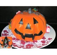 Réalisez un gâteau pour Halloween : Scrapounette