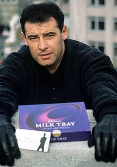 Milk Tray Man – Milk Tray chocolates Catchphrase: And all because the lady loves…Milk Tray