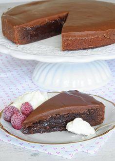 Baking Recipes, Cake Recipes, Dessert Recipes, No Bake Desserts, Delicious Desserts, Swedish Recipes, My Dessert, No Bake Cake, Cupcake Cakes