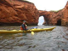 Kayak à la belle Anse - Parc de Gros-Cap, Îles-de-la-Madeleine