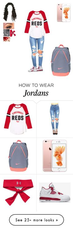 """""""Untitled #260"""" by dajacarter22 on Polyvore featuring NIKE and Under Armour"""