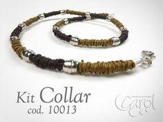 KIT 10013 Kit Collar cafe hombre - YouTube