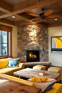 Corner Gas Fireplace Design Ideas small gas fireplace stove more Corner Fireplace Design Pictures Remodel Decor And Ideas Page 3