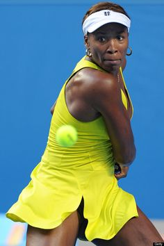 """""""Chiropractic gives me the flexibility I need to keep in the game."""" -Venus Williams. Picture via HuffingtonPost.com."""