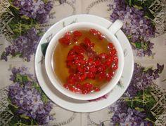 green tea with goji berries