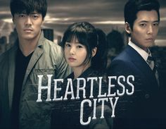Heartless City starring Nam Gyu Ri, Jung Kyung Ho, and Lee Jae Yoon. Latest kdrama that i am trying to catch up. It's 12 ep already. Challenge accepted! Edit: Action + heart-wrenching romance. It hurts but it hurt so good. Love it.