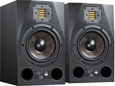 """Adam A7x Studio Monitors - If you want the flattest frequency response with patented """"air ribbon"""" tweeter technology, then this is it.  Affordable, can match with a subwoofer!  http://www.refinedgent.com/a7x-studio-monitors/"""