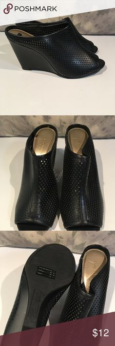 💋💋CUTE CUTE CUTE WEDGES Size 7.5💋💋 These are adorable!!! VERY GENTLY WORN!!! Size 7.5  We are cleaning out closets and have many designer items that need to find a new home. Shoes Wedges