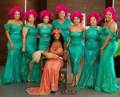 Marital bliss to all the newly wedded couples! source: by: Wedding Day Wedding Planner Your Big Day Weddings Wedding Dresses Wedding bells African Bridesmaid Dresses, African Wedding Attire, African Lace Dresses, African Attire, African Fashion Dresses, Nigerian Wedding Dresses Traditional, Traditional Wedding Attire, Traditional Dresses, Traditional Weddings
