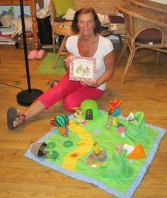 003 Picnic Blanket, Outdoor Blanket, Language School, Nice To Meet, Felt Art, English Language, Storytelling, Beach Mat, Crafts For Kids