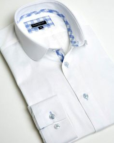 Franck Michel® Shirts - Designer French Shirts from Paris Tailored Shirts, Casual Shirts, Kids Shirts, Cool Shirts, Shirting Fabric, Cotton Fabric, Men Dress, Shirt Dress, Gentleman Style