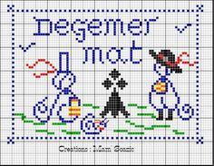 bretagne - breizh - bonjour - bzh - point de croix - cross stitch - Blog : http://broderiemimie44.canalblog.com/