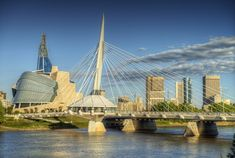20 amazing things to do in Winnipeg, Manitoba, from seeing polar bears to the Human Rights Museum and visiting the Winnipeg Art Gallery. Great Places, Places To See, Beautiful Places, Winnipeg Art Gallery, Lake Winnipeg, Canada, Win A Trip, Day Trips, San Francisco Skyline