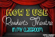 Reader's Theatre isn't just for beginning readers! Here are 6 reasons to use Reader's Theatre in your classroom.