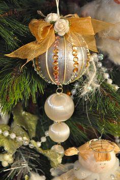El cajón del scrap: Adornos de Navidad DIY