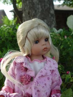 """Retired ~ Key To My Heart ~ Rosey ~ 13"""" Vinyl Doll by Linda Rick ~ LE 34/1000   #TheDollMaker #Dolls"""