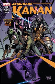 Kanan the last padawan, issue 6 cover