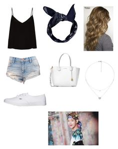 """""""Untitled #68"""" by natalie001 on Polyvore featuring Raey, BDG, Boohoo, Vans, Michael Kors and Folli Follie"""