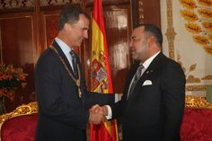 14 July 2014 - Day 1  King Felipe and Queen Letizia are currently in Morocco for a two day official visit