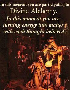 Alchemy ~ the essence of manifestation