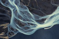 Aerial photographs of Iceland by Emmanuel Coupe-Kalomiris